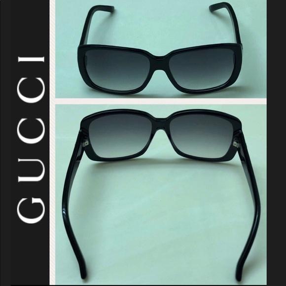 a53b1411362 Gucci Accessories - Authentic Gucci GG black rounded-square sunglasses